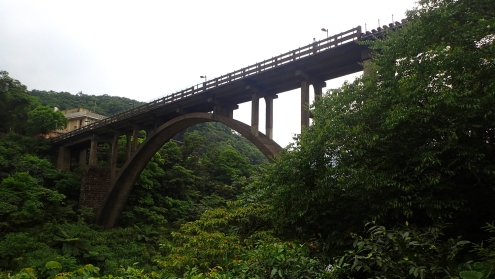 Houtong's coal-mining bridge