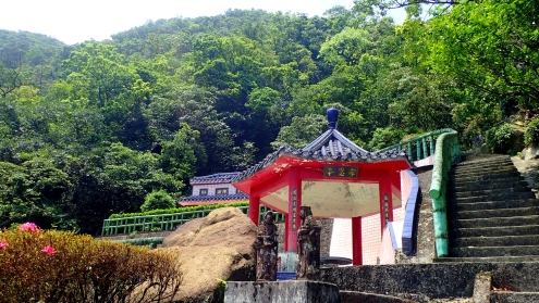 Temple up the hill