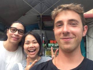 Nice people met during the road trip